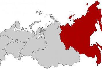Extrême-Orient District fédéral de la Russie: la composition de la population, l'économie et le tourisme