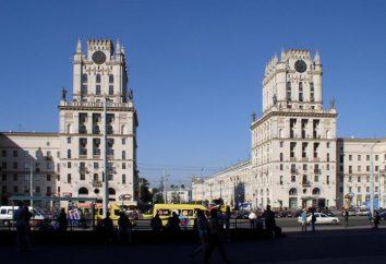 Atracciones Bielorrusia: en coche, se puede ver toda la
