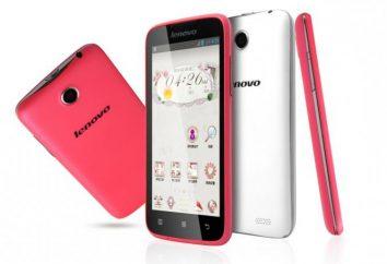 Teléfono inteligente Lenovo A516: opiniones, fotos, características, descripción de las nuevas características