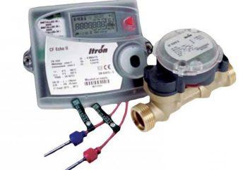 Zähler Wärme auf die Batterie: Betrieb. Installation von Wärme auf die Batterieanzeige