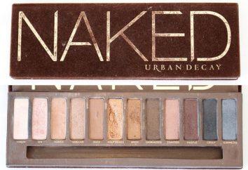 Desnudos (cosméticos): comentarios de los clientes. Desnuda la gama de colores