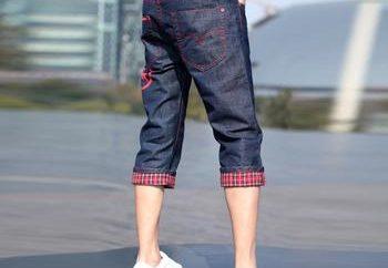 Coser las modas: cómo hacer puentes de los pantalones vaqueros