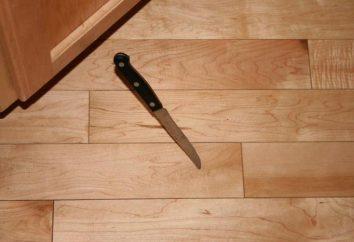 Perché il coltello cadde a terra? Il segno dice – all'ospite