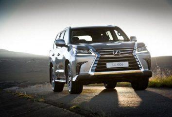 Lexus-450 car: description, spécifications, avis