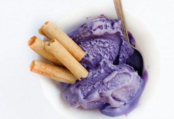 Pasta para los rodillos de la oblea con leche y sin