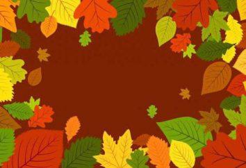 Les enfants quatrains sur l'or d'automne pour le jardin