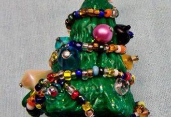 Árvore de Natal feita de barro – é fácil!