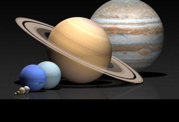 Numeri interessanti di Saturno, i suoi anelli e satelliti