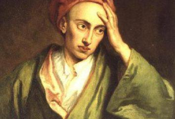 Aleksandr Poup: uma breve biografia de Inglês poeta