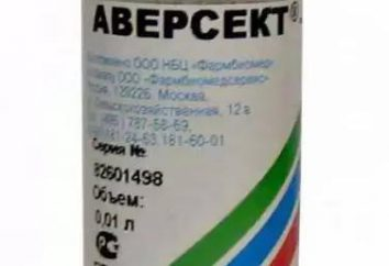 """A droga """"Aversekt"""": Instrução para uso em medicina veterinária"""