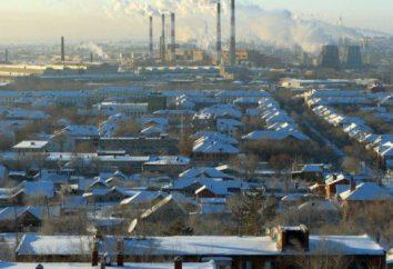 La popolazione di Orsk: la popolazione, l'occupazione e in particolare