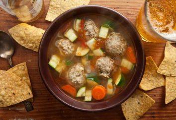 Zuppa di patate con polpettine: in particolare la cucina, ricette e recensioni