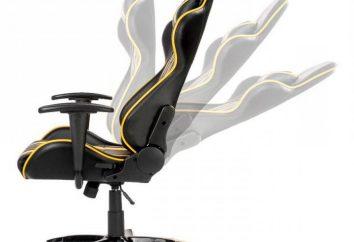 Mecanismo de inclinación para las sillas. Tipos, cómo elegir