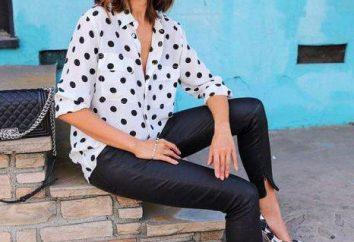 Lo que pasa en los guisantes de la blusa de las mujeres?