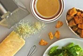 Déterminer la teneur en calories: salade « César ». Recettes pour salade
