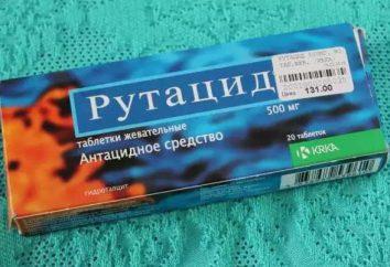 """Da quello che pillole """"Rutatsid""""? Istruzioni per l'uso, indicazioni"""