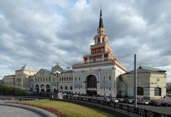 Como chegar a Domodedovo da Estação de Kazansky: dicas para os visitantes para a capital