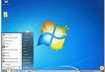 A barra de ferramentas Quick Launch para o Windows 7: elemento do sistema operacional de compreensão da predestinação