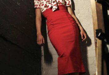 Uwaga igłowe kobiet: jak skonstruować strój wzór z wysoką talią