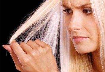 Cuidado del cabello decolorado en casa