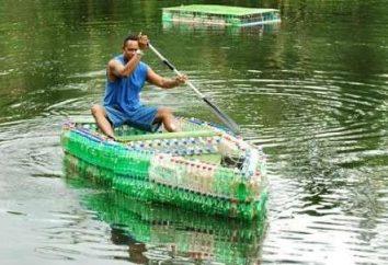 Comment faire un bateau de bouteilles en plastique