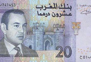 La moneta ufficiale del Marocco. la valuta del paese. La sua origine e l'aspetto.