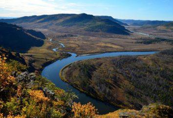La caduta del fiume Amur dalla sorgente alla foce