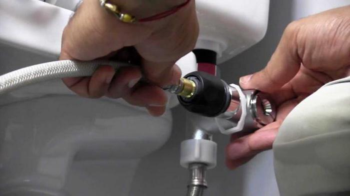 toilette wasser ablassen