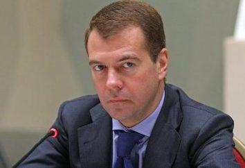 Medvedev: Biographie Premier ministre