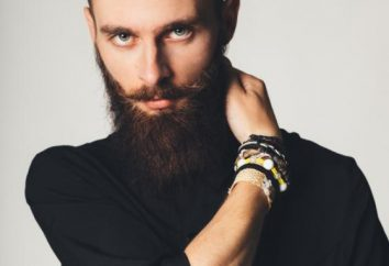 Kształt typu brody twarz. Jak wybrać formę brodę?