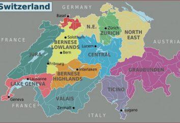 Wie viele Kantone, erstellt zusammen eine Schweiz? Kurz über jede