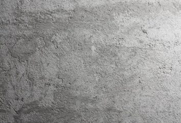 A principal classificação de concreto