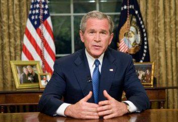 George W. Bush – Presidente. George W. Bush: la politica
