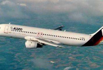 """""""Airbus 320"""": circuit intérieur. Top places"""