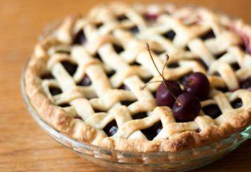 Tarta z ciasta francuskiego z wiśni: przepis