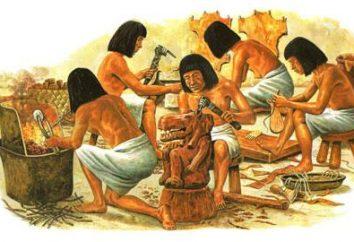 O verdadeiro milagre do mundo – é os artesãos no Antigo Egipto