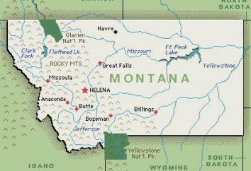 La capital del Estado de Montana – una ilustración de los acontecimientos históricos del Salvaje Oeste