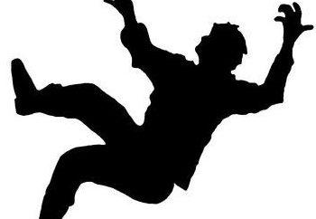 Caduta dall'alto – che dice che un libro dei sogni? Altezza in un sogno che significa?