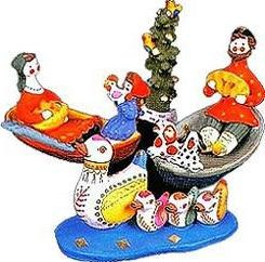Jakie są rosyjskie zabawki ludowe?