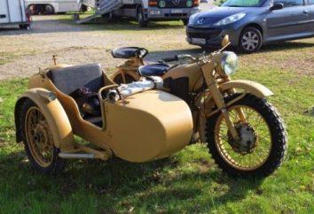 """Motocykl K-750: dane techniczne i zdjęcia. Radzieckie motocykle. Motocykl """"Dniepr K-750"""""""