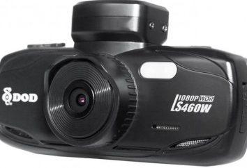 Samochód DVR DOD LS460W GPS: opinie, opisy, specyfikacje, opinie właścicieli