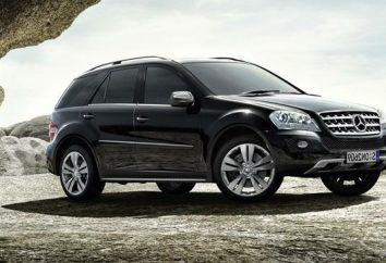 Mercedes Benz M-Class – spécifications et commentaires des propriétaires