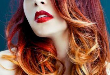 tendencia de la moda: Ombre teñir el pelo oscuro