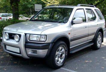 """""""Opel Frontera"""": las especificaciones técnicas, comentarios, fotos"""