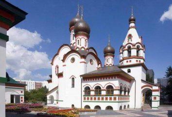Reborn alla vita il tempio della Santissima Trinità nel Vecchio Cheryomushki