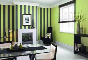 Grüne Farbe im Innenraum