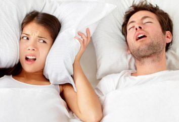 Come sbarazzarsi di russare uomo farmaco: recensioni