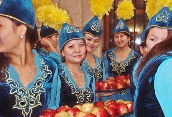 Kasachisch Nationaltracht: Beschreibung und Fotos