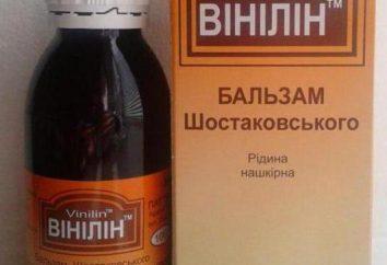 Bálsamo Shostakovskiy: manual de instrucciones, comentarios