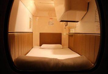 hôtels capsule s'ils prendront racine en Russie?